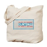 Starry Hillary for President 2016 Tote Bag