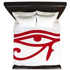 Eye of Ra Red Original.png King Duvet