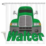 Trucker Walter Shower Curtain