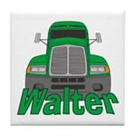 Trucker Walter Tile Coaster