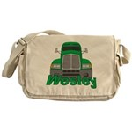 Trucker Wesley Messenger Bag