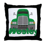 Trucker Wesley Throw Pillow