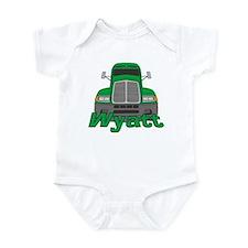 Trucker Wyatt Infant Bodysuit