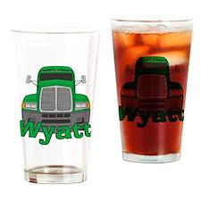 Trucker Wyatt Drinking Glass