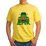 Trucker Erik Yellow T-Shirt