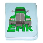 Trucker Erik baby blanket