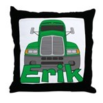 Trucker Erik Throw Pillow