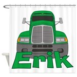Trucker Erik Shower Curtain