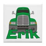 Trucker Erik Tile Coaster