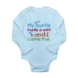 My Auntie made a wish Long Sleeve Infant Bodysuit