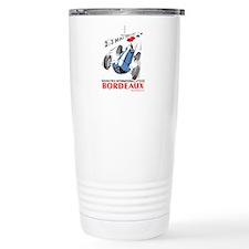 Grand Prix Bordeaux Stainless Steel Travel Mug