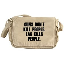 Lag Kills People Messenger Bag