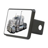Kenworth W900 White Truck Hitch Coverl