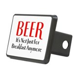 Beer for Breakfast Hitch Cover