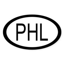 Filipino Car Sticker / Decal (Oval)