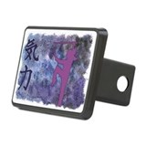 Spirit Sword Purple Rectangular Hitch Cover