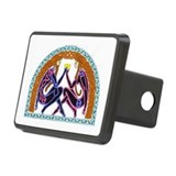Celtic Lovers Rectangular Hitch Cover