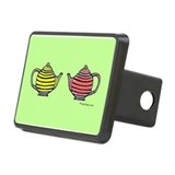 Teapots! Rectangular Hitch Cover