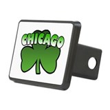 Chicago Shamrock Rectangular Hitch Cover