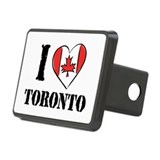 I Love Toronto Rectangular Hitch Cover