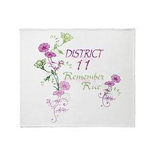 Remember Rue Throw Blanket