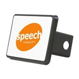 Speech Therapy Rectangular Hitch Cover