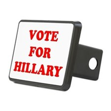 Vote for Hillary Rectangular Hitch Cover