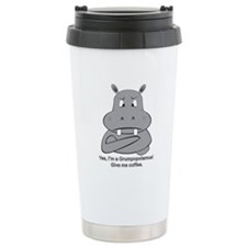 Grumpotomus without coffee Ceramic Travel Mug