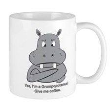 Grumpopotmus without coffee Coffee Mug