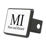 Born and Raised Rectangular Hitch Cover