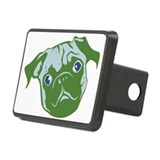 Green Rectangular Hitch Cover