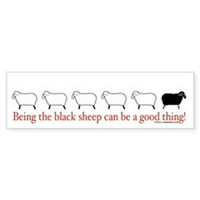 Good Black Sheep Bumper Bumper Sticker