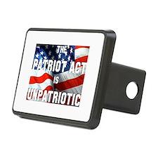 Patriot Act is Unpatriotic Hitch Cover