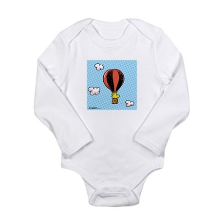 Up, Up, and Away! Long Sleeve Infant Bodysuit