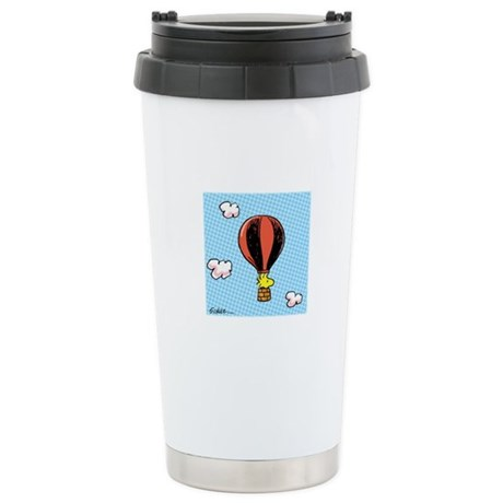 Up, Up, and Away! Ceramic Travel Mug