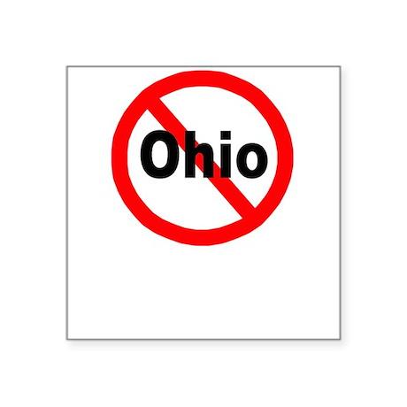 "ohio.jpg Square Sticker 3"" x 3"""