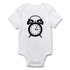 Alarm clock Infant Bodysuit