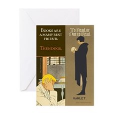 Friend/Hamlet Greeting Card
