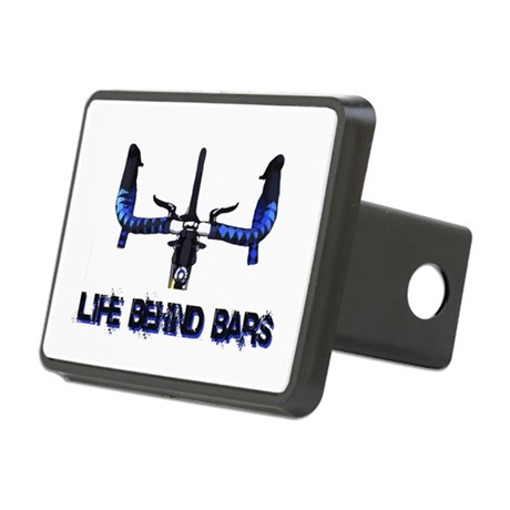 Life Behind Bars Rectangular Hitch Coverle)