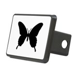 Butterfly Rectangular Hitch Coverle)
