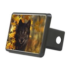 """Black Wolf"" Hitch Cover"