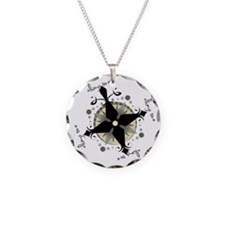 Ty's Compass Rose Pendant