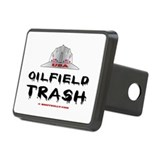 USA Oilfield Trash Rectangular Hitch Cover