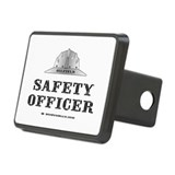 Oilfield Safety Officer Rectangular Hitch Cover