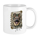 Fathers Day Stone Paws Shepherd Mug