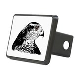 Goshawk B/W Rectangular Hitch Cover