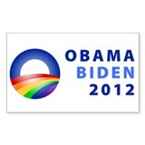 Obama rainbow Decal
