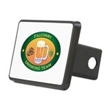 Falconry Team Rectangular Hitch Cover