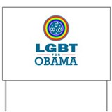 LGBT for Obama Yard Sign