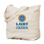 LGBT for Obama Tote Bag